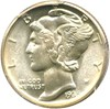 Image of 1935-D 10c PCGS/CAC MS65 FB