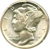 Image of 1935-D 10c PCGS/CAC MS65 FB