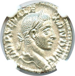 Image of 222-235 AD Sev.Alexander Silver Denarius NGC MS (Ancient Roman) Strike:4/5; Surface 4/5