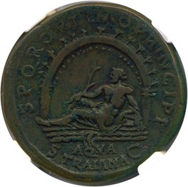 Image of AD 98-117 Trajan AE Sestertius NGC VF - Star - (Ancient Roman) Strike:5/5; Surface 5/5