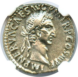 Image of AD 96-98 Nerva AR Denarius NGC Choice XF (Ancient Roman) Strike:5/5; Surface 4/5