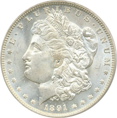 Image of 1891-O $1 PCGS MS65  - No Reserve!