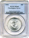 Image of 1954 Wash-Carver 50c PCGS MS65