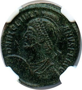 Image of AD 360-363 Julian II AE3 (Nummus) NGC XF (Ancient Roman) Strike:5/5; Surface 3/5