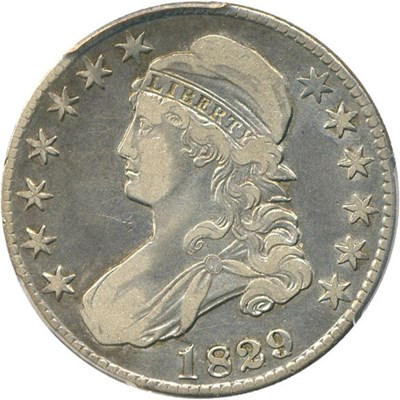 Image of 1829/7 50c PCGS VF25