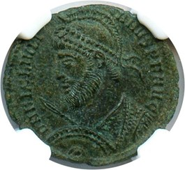 Image of AD 360-363 Julian II AE3 NGC AU (Ancient Roman) Strike:5/5; Surface 4/5