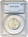 Image of 1915 25c PCGS AU55