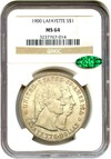 Image of 1900 Lafayette $1 NGC/CAC MS64 - No Reserve!