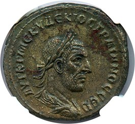 Image of AD 249-251 Trajan Decius BI Tetradrachm NGC AU (Ancient Roman) Strike:5/5; Surface 4/5