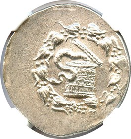 Image of 180/167-133 BC AR Cistophorus NGC Choice AU (Ancient Greek)