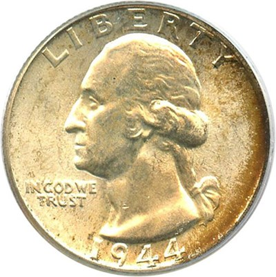 Image of 1944 25c PCGS MS66