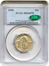 Image of 1930 25c PCGS/CAC MS66 FH  - No Reserve!