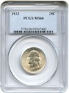 Image of 1932 25c PCGS MS66