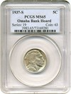 Image of 1937-S 5c PCGS MS65