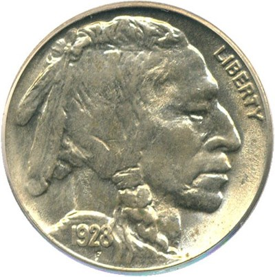 Image of 1928 5c PCGS MS63