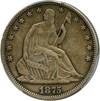 Image of 1875 50c PCGS AU50