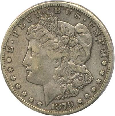 Image of 1879-CC $1 PCGS/CAC VF35 * Key Date Carson City Dollar *