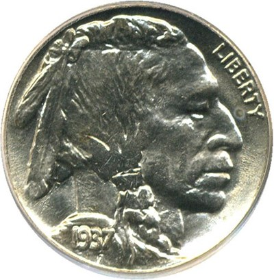 Image of 1937 5c PCGS MS64