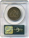Image of 1853 50c PCGS XF40 (Arrows & Rays) OGH