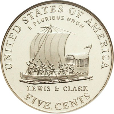 Image of 2004-S 5c NGC Proof 69 UCameo (Keel Boat)