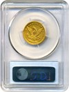 Image of 1848-D $5 PCGS/CAC XF40 * Dahlonega Mint Gold Coin *