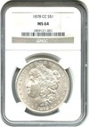 Image of 1878-CC $1 NGC MS64