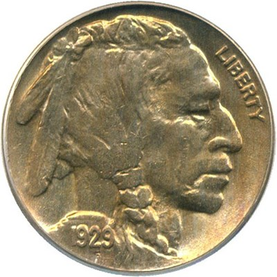 Image of 1929 5c PCGS/CAC MS64