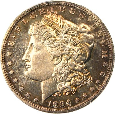 Image of 1904 $1 PCGS Proof 64  - No Reserve!