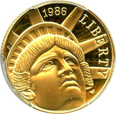 Image of 1986-W Statue of Liberty $5 PCGS Proof 69 DCAM - No Reserve!