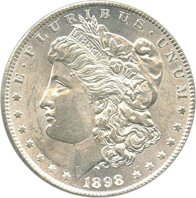 Image of 1898-S $1 PCGS MS63