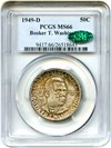 Image of 1949-D BTW 50c PCGS/CAC MS66 - No Reserve!