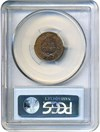 Image of 1865 1c PCGS MS62 BN (Fancy 5)