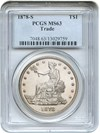 Image of 1878-S Trade$ PCGS MS63