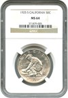 Image of 1925-S California 50c NGC MS64