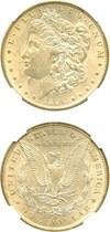 Image of 1896-O $1 NGC AU58