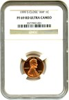 Image of 1999-S 1c NGC Proof 69 RD DCameo (Close AM)