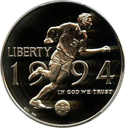 Image of 1994-P World Cup 50c PCGS Proof 69 DCAM - No Reserve!
