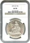 Image of 1875-CC Trade$ NGC AU58 - Carson City Trade Dollar