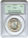 Image of 1949-S 50c PCGS MS64 OGH - No Reserve!