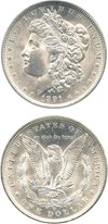 Image of 1891-O $1 PCGS MS64
