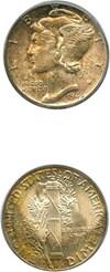 Image of 1945-D 10c PCGS MS66 FB