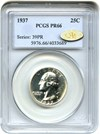 Image of 1937 25c PCGS/CAC Proof 66 ** Gold CAC **