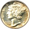 Image of 1936 10c PCGS/CAC Proof 64 - Scarce First Year Proof - No Reserve!