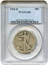 Image of 1918-D 50c PCGS Good-6