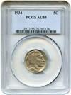 Image of 1934 5c PCGS AU55