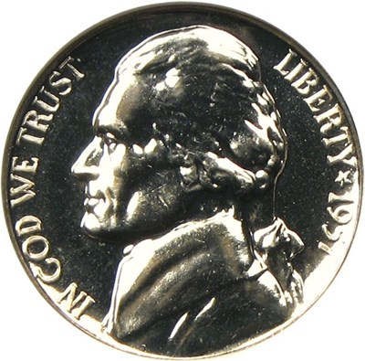 Image of 1957 5c NGC Proof 65 - No Reserve!