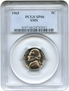 Image of 1965 5c PCGS MS66 (Special Mint Set)