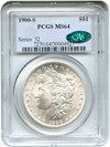 Image of 1900-S $1 PCGS/CAC MS64