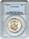 Image of 1949-S 50c PCGS MS63 - No Reserve!