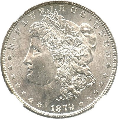 Image of 1879 $1 NGC MS65